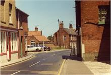Bacton Road viewd from Church Street.1970s.