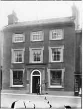 Barclays Bank, Market Place, North Walsham, pre 1911