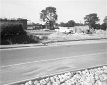 Building the houses on Bluebell Road, North Walsham 1971