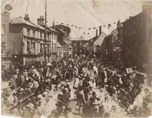 Celebrations for the Golden Jubilee of Queen Victoria in 1887.