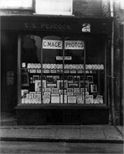 Charles Mace, Photographer 2 Market Place, North Walsham., previously Miss C.L. Peacock, Tobacconist & Walter Joseph, Peacock, Saddler late 20's & 30's