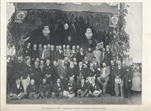 The Committee for the celebration of Queen Victoria's Diamond Jubilee 1897.