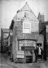 D. M. Amiss, Printer. Market Street, North Walsham.