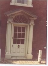 Doorway of Aylsham House, North Walsham. 1990's ?