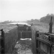 Ebridge Lock taken in February 1954
