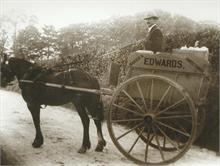Edwards Delivery Cart circa 1910