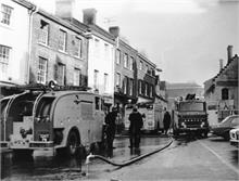 Fire at F. Randell Ltd. 9th February 1976.