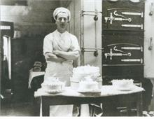 Freddie Edwards in the Norwich Road Bakery