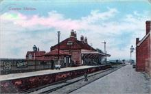 Gunton Station, Southrepps. Built for Lord Suffield, Gunton Hall, when the G.E.R. railway was built across his land.