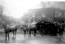 Horse bus on Grammar School Road/ Yarmouth Road Junction.