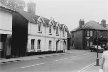 Kings Arms Street, North Walsham in the late 1960s
