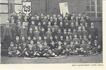 Manor Road Primary School, Boys Dept. Choir 1925 .. 6.