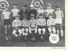 Manor Road Primary School Football Team 1968 .. 69