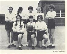 Manor Road Primary school Netball Team 1961.