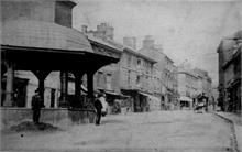 Market Place, North Walsham, looking east. Photo G.McLean