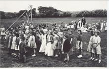 May Day celebrations at Manor Road Junior School, 1949.