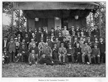 Members of the Coronation Committee, May 1911