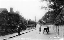 Mundesley Road around 1900.