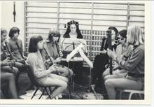 Musicians for production of 'Alice' at Girls' High School.