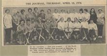 North Walsham Ladies' Hockey Club, 25th Anniversary.