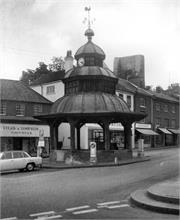 North Walsham Market Cross from SW. 22nd June 1969. Photograph by George Plunkett