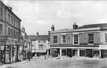 North Walsham Market Place and Market Cross