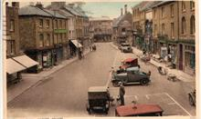 North Walsham Market Place. Number Plate in foreground was registered in London in 1925.