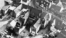 North Walsham Old Bear's Yard aerial view