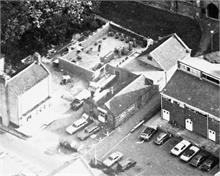 North Walsham St Benet's Hall Construction aerial view