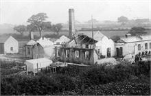North Walsham Steam Laundry, Laundry Loke, after fire of 1906