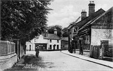 Norwich Road, North Walsham. J.J.Starling on the right, Bull Inn in the distance. Photo taken before Frank Mann built his garage on the far right.
