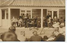 Opening the Cottage Hospital as a memorial of the Great War