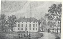 The Paston Grammar School, old sketch early 18th century.