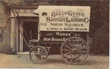 Postcard from Beech Grove Sanitary Laundry