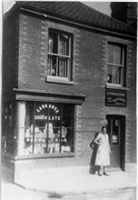 Rackstraw's Oil & Hardware, 15 Mundesley Road, North Walsham. Mrs Violet Wesby lived in the flat above, with husband Bertie, until 1939