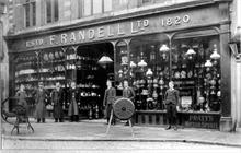 Randell's store, Market Place North Walsham, after rebuilding