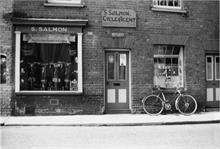 Sid Salmon's third Cycle shop - Vicarage Street, North Walsham