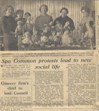Spa Common Residents' Association 1967