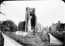 St Nicholas' Church in early 1900s viewed from the west.