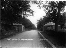 Tollhouses at Westwick Woods on the North Walsham to Norwich Road