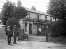 Wellingtonia, 113 Mundesley Road, North Walsham before its use as a Red Cross Hospital during the First World War.