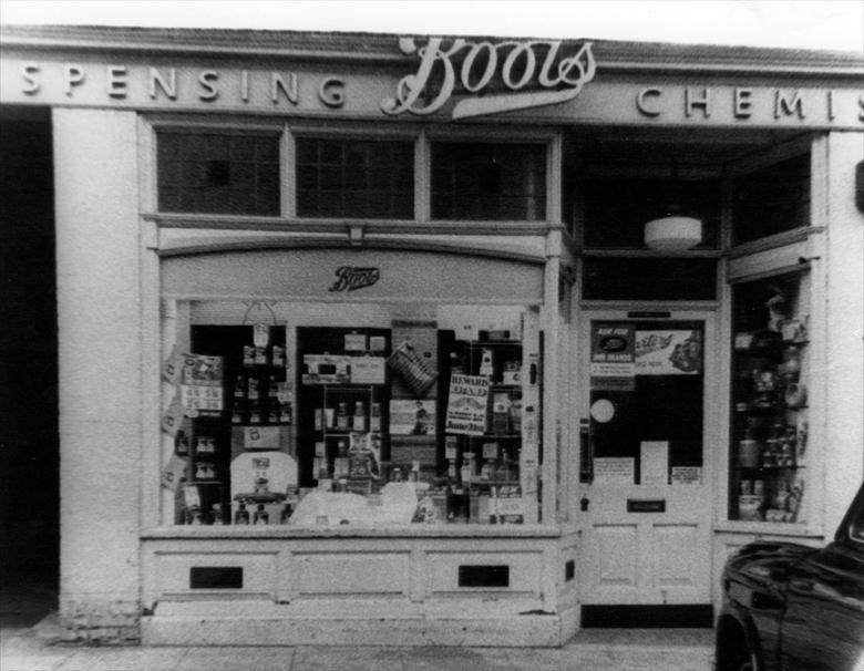 Photograph. Boots Chemists,, 11 Market Place, North Walsham. (North Walsham Archive).