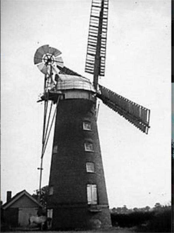 Photograph. Briggate Mill (North Walsham Archive).