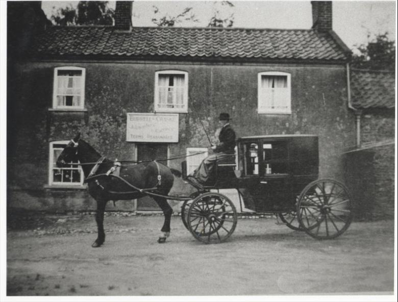 Photograph. Burrell and Craske Jobmaster and Carrier 48 Bacton Road (North Walsham Archive).