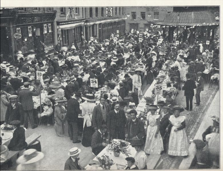 Photograph. Coronation Celebrations 1911 (North Walsham Archive).