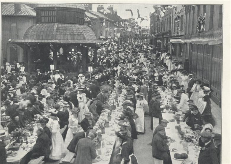 North Walsham Coronation Celebrations 1911