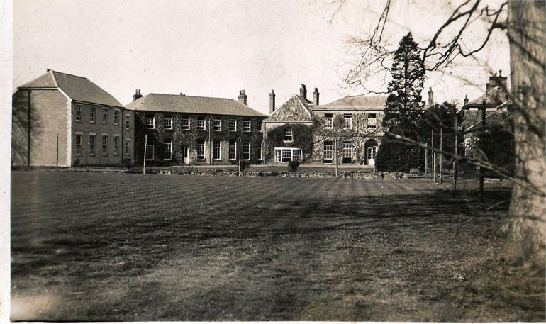 Photograph. Girls' High School buildings c 1930 (North Walsham Archive).