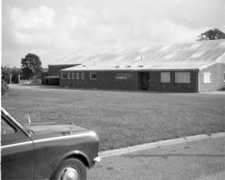 Photograph. Ladbrook Engineering, Norwich Road, North Walsham (North Walsham Archive).
