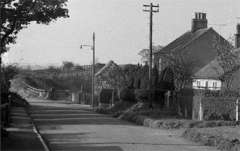 Photograph. Lyngate Road (North Walsham Archive).