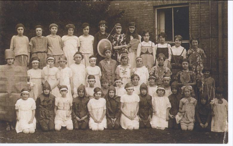 Photograph. Manor Road School North Walsham, 1926. (North Walsham Archive).